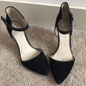 BP suede heels